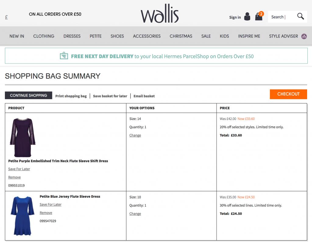 Wallis 海外通販の購入方法