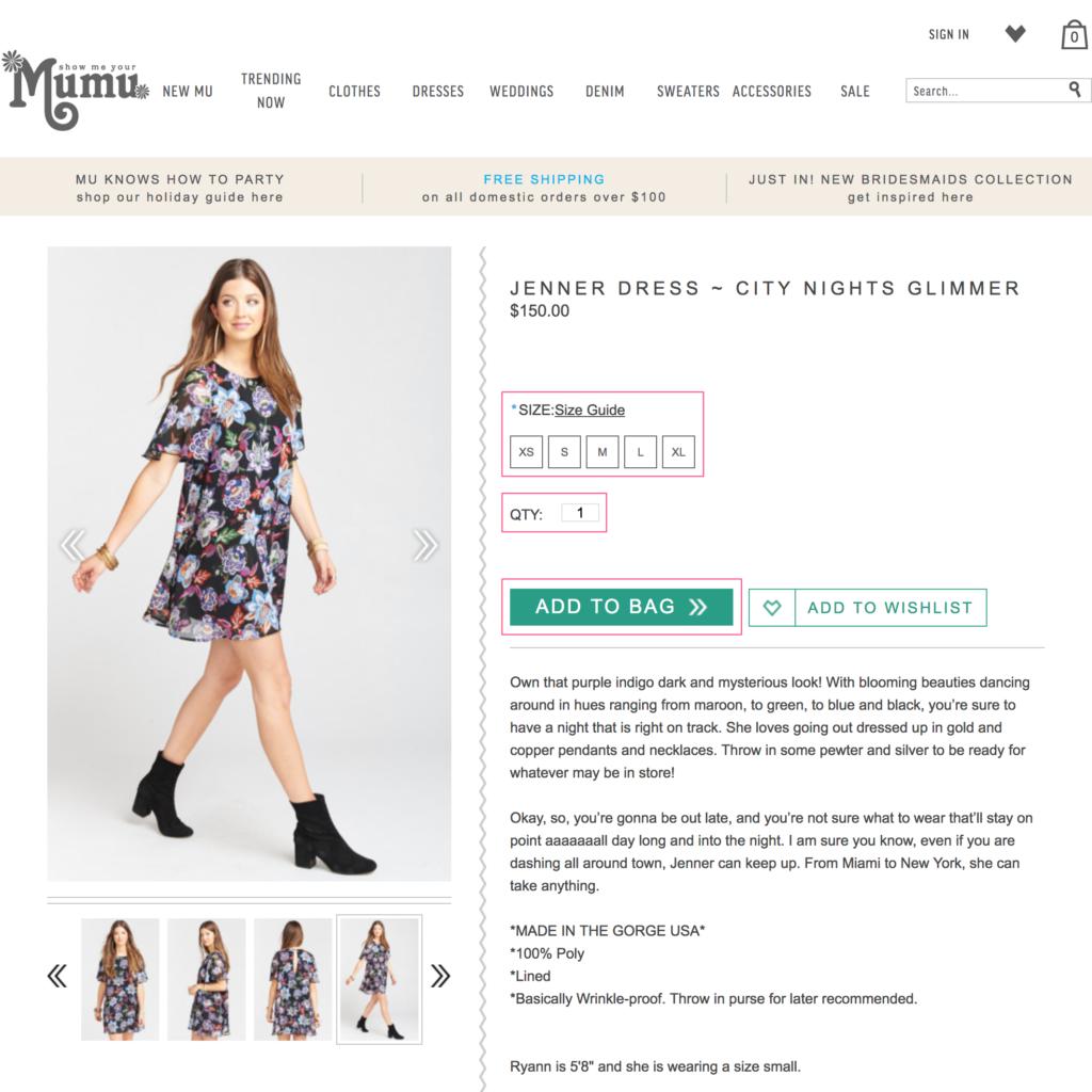 Show Me Your MuMu 公式オンラインショップの購入方法