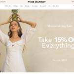 PIXIE MARKET ピクシーマーケットの海外公式通販で購入する