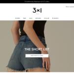 3x1(スリーバイワン)の海外通販サイトでデニムを購入する方法