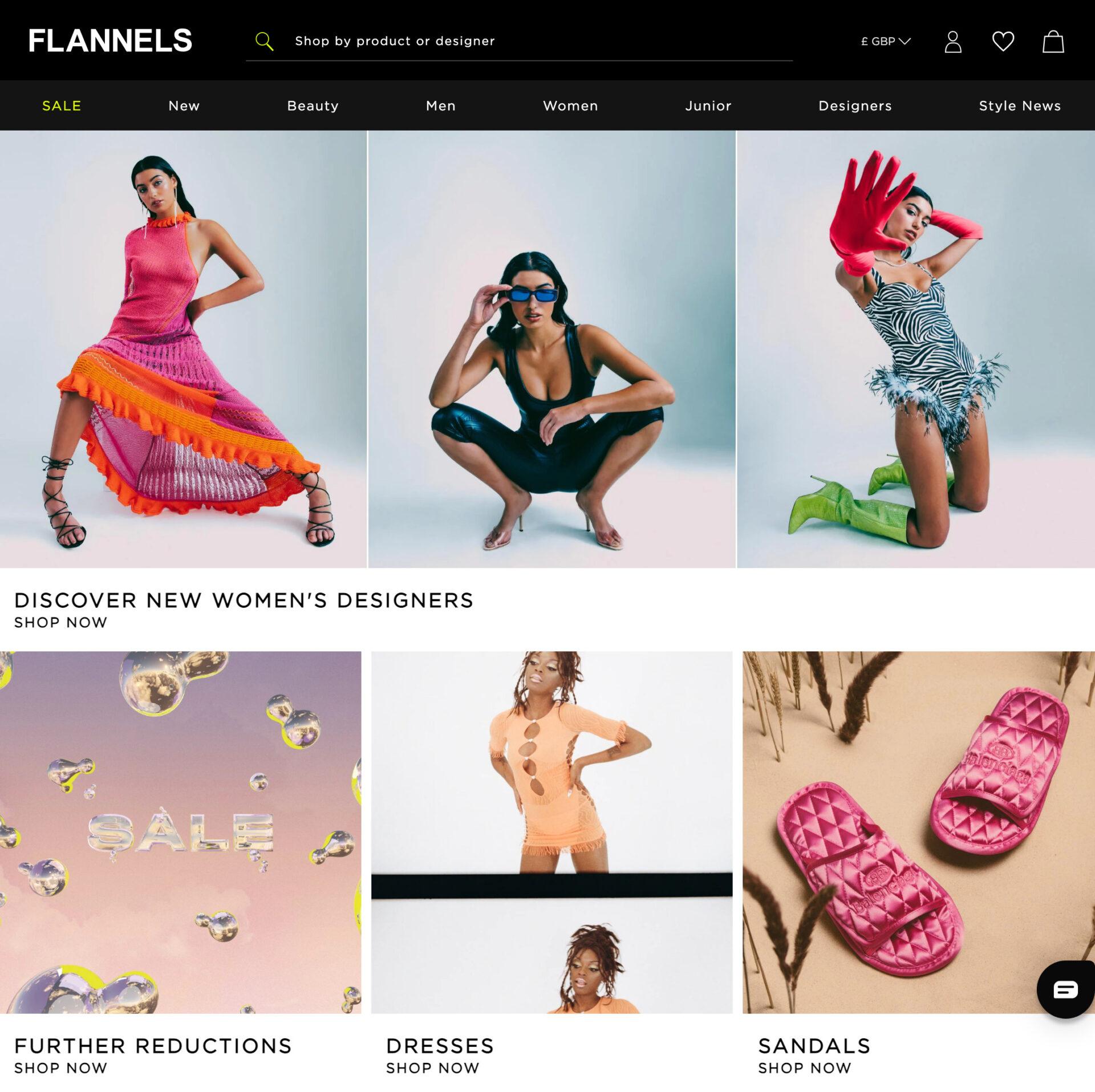 FLANNELS フランネルズの海外通販