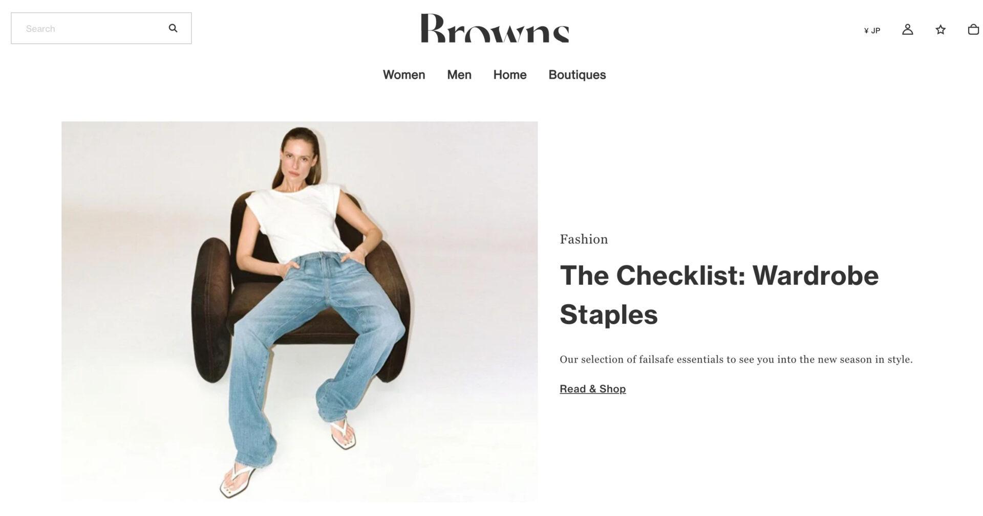 Browns ブラウンズの海外通販