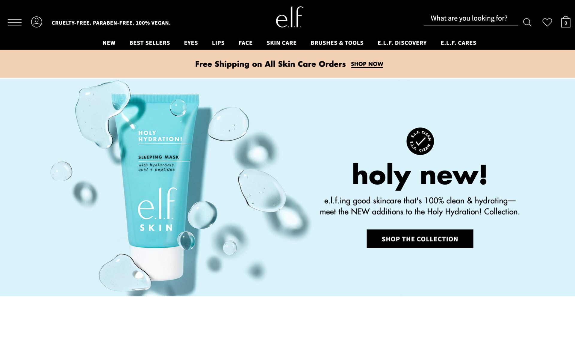 e.l.f. Cosmetics エルフコスメティックスの海外コスメ通販