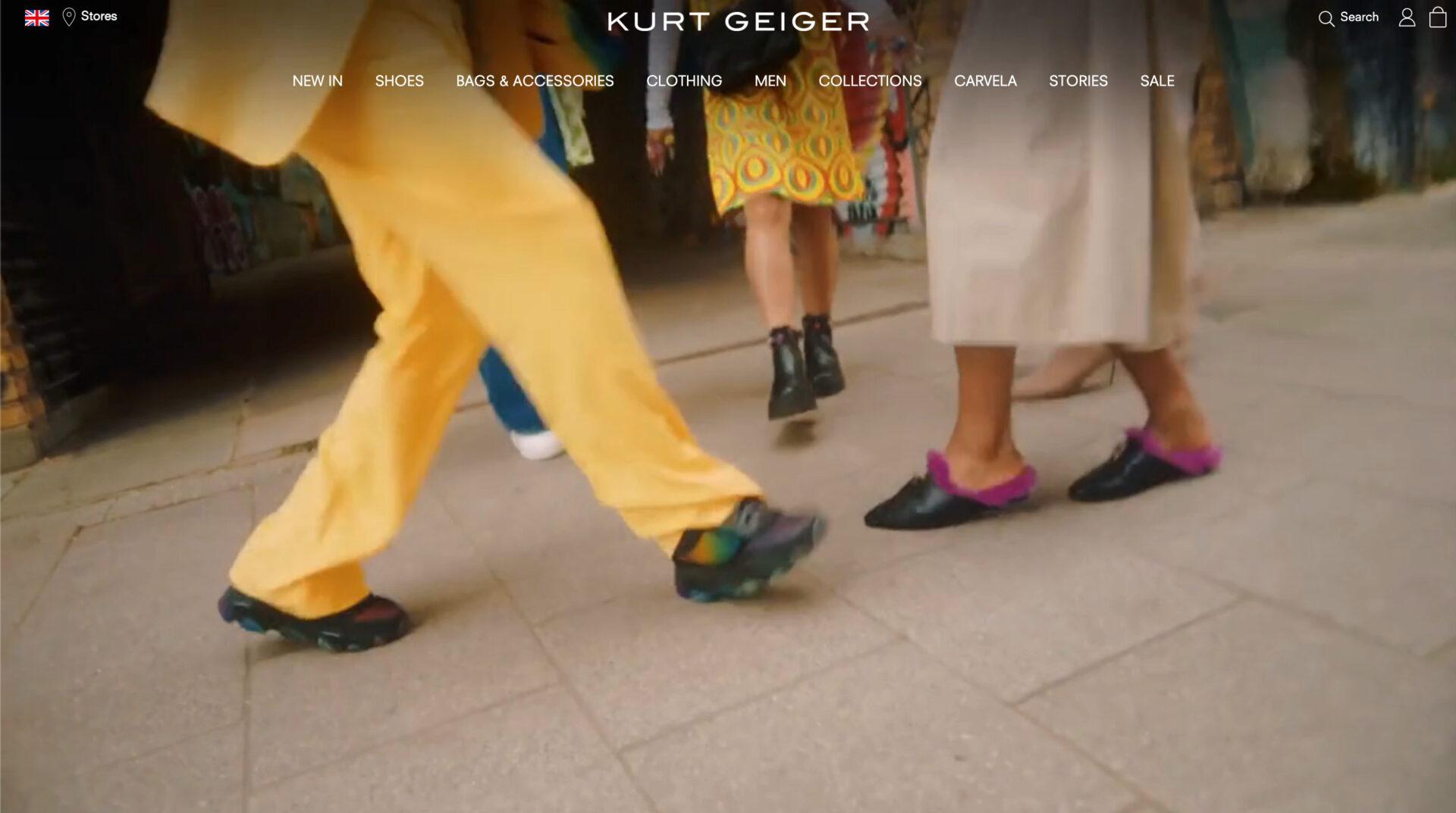 KURT GEIGER カートジェイガーの海外通販