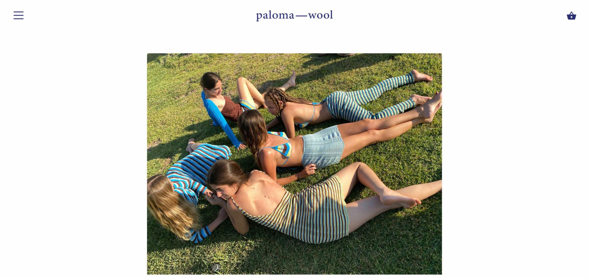 paloma wool パロマウールの海外通販